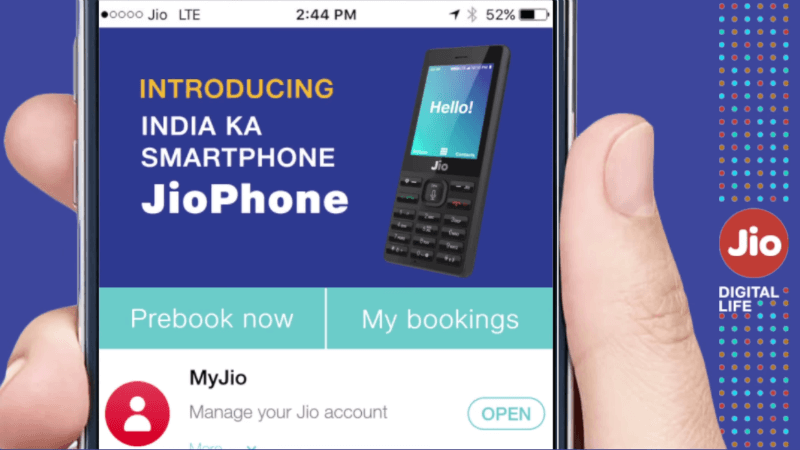 Exclusive Jio Phone Pre-Booking is Starting from Aug 24, 2017