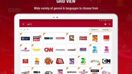 Jio TV App Download for Windows