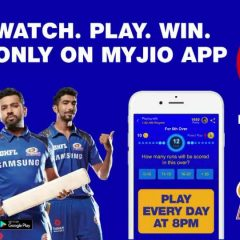 Jio Play Along Game Including IPL 2018 Recharge Pack