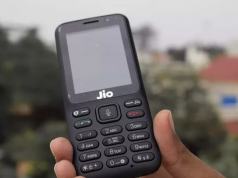 factory reset jio phone