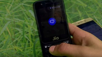 Video Calling in Jio Phone