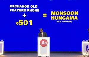 Exchange Old Jio Phone to Jio Phone 2 at 501