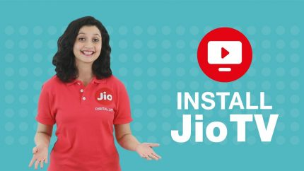 JIO TV in Web Browser