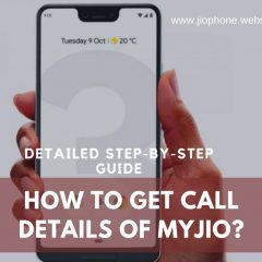 Get Call Details on Jio Phone